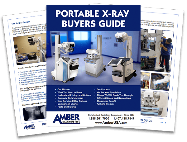 Portable x-ray packages for urgent care or mobility.